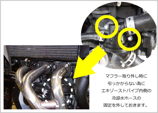 XSR900 POWER BOX 取付説明