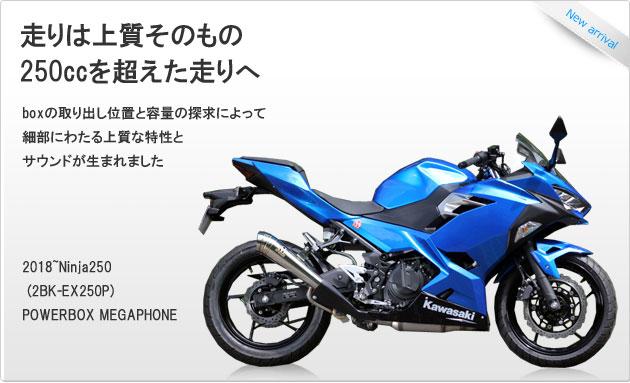 SP忠男ダイレクトストア|Kawasaki Ninja250 (2BK-EX250P)POWERBOX MEGAPHONE