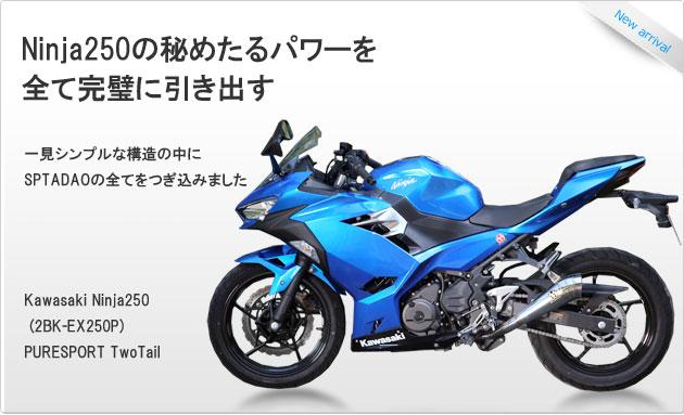 SP忠男ダイレクトストア|Kawasaki Ninja250 (2BK-EX250P)PURESPORT TwoTail