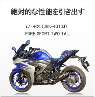 SP忠男ダイレクトストア|YZF-R25(JBK-RG10J) PURE SPORT TWO TAIL