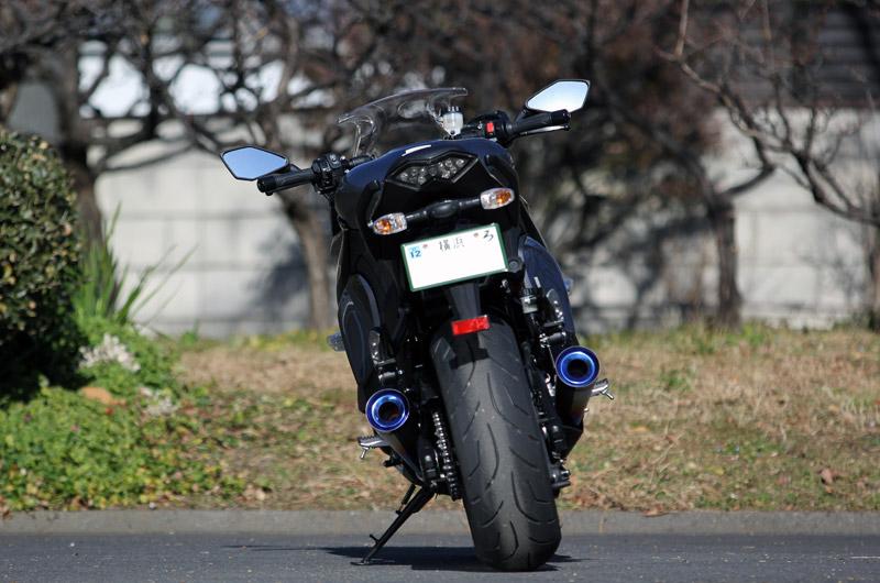 KAWASAKI 2014〜Ninja1000(ZXT00L/ZXT00M) POWER BOX TitanBlue